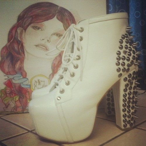my third pair of jeffreys, my second pair of litas.