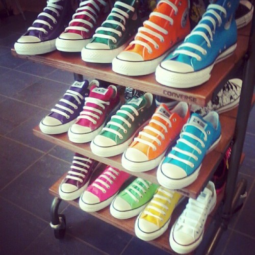 I want them all. #swag #rainbow (Taken with instagram)