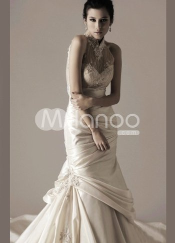 Pretty White Taffeta Sweetheart A-line Sweep Evening Dress