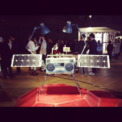 We'll need music on Mars #boombox #tomsachs #nasa  (Taken with instagram)