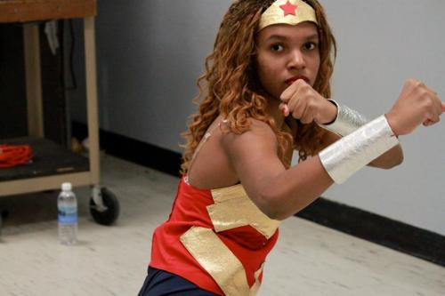 Myself as Wonder Woman, 2011. Submitted byhoneyfish