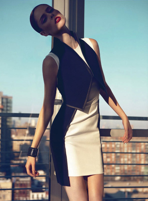 Coco Rocha | Max Abadian | Elle Brazil May 2012 | 'The Special Model'