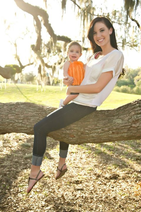 Mother's Day Photoshoot with Emmy.  :-)