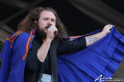 cmj-network:  My Morning Jacket at New Orleans' Jazz Fest. Click through for more shots.