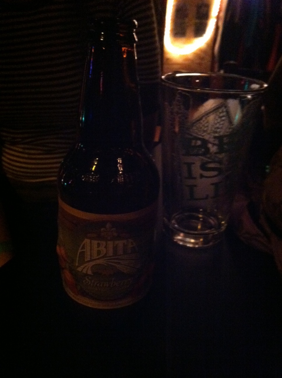 Abita Strawberry Harvest Lager @ Latitude 44 in Sioux Falls, SD With Universe Contest, Talk Rock, and The New FM