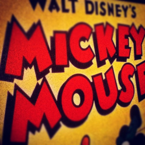 Mickey Mouse(: (Taken with instagram)