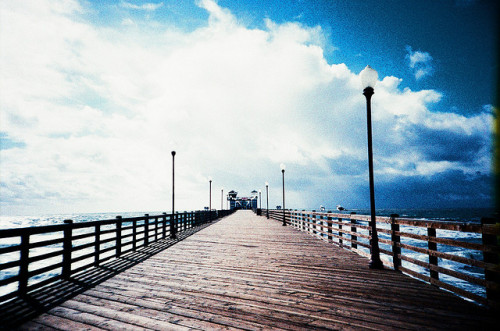 Oceanside Pier by The Dalai Lomo on Flickr.Oside