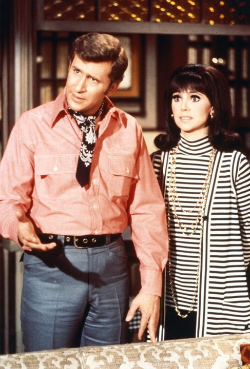 Ted Bessell & Marlo Thomas in That Girl