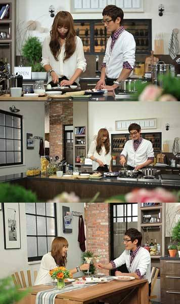 [PICS] 120512 Victoria on Kangta's 'Pasta e Basta'! cr: enewsWorld || -Vo