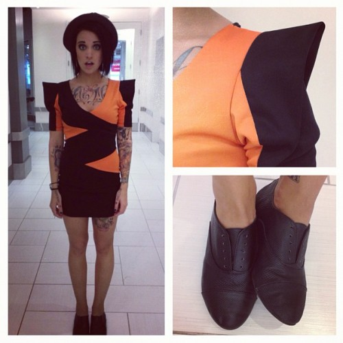 Today's outfit for our MMVA nomination show on MuchMusic!