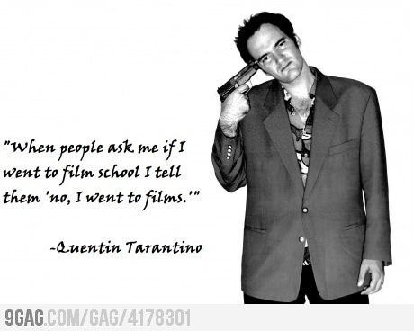 9gag:  This is what makes him a GREAT director!