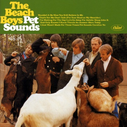 janaywhite:  THIS DAY IN MUSIC… 1966, The Beach Boys released the album Pet Sounds in the US. The album is now regarded as the masterpiece of composer-producer Brian Wilson. To confirm this, Pet Sounds has been widely ranked as one of the most influential records ever released and has been ranked at No.1 in several music magazines lists of greatest albums of all time, including New Musical Express, The Times and Mojo Magazine. In 2003, it was ranked No.2 in Rolling Stones 500 Greatest Albums of All Time list, (Sgt. Pepper's came first).  46 years ago today, one of the best albums of all time was released!! Let's all celebrate Brian Wilson's musical genius! :)