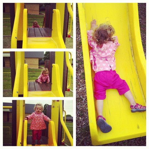 301. Encourage her adventurous side. Today she's conquering the playground slide. Tomorrow, the world.