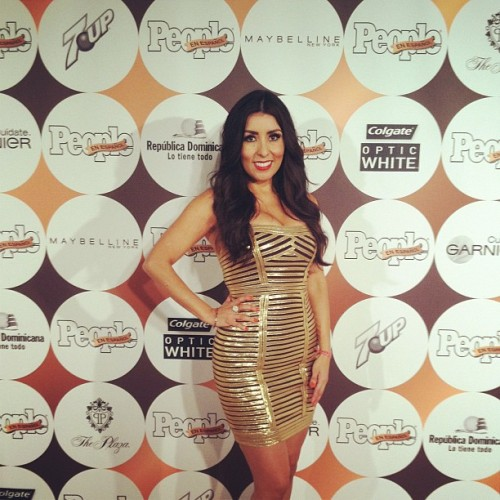 Red Carpet #50masbellos People en Espanol #fashion #redcarpet (Taken with instagram)