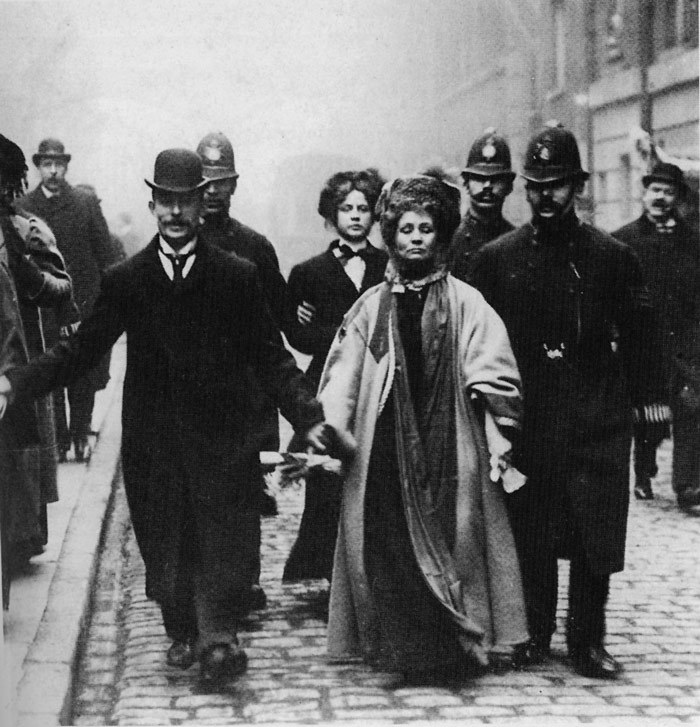 Emmeline Pankhurst: you are a bad ass and I wish I was half as great as you