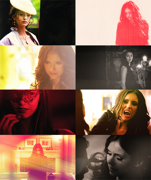 THE VERY LONG LIST OF AWESOME LADIES ON TV: Katherine Pierce [TVD]  I could rip you to shreds and do my nails at the same time.