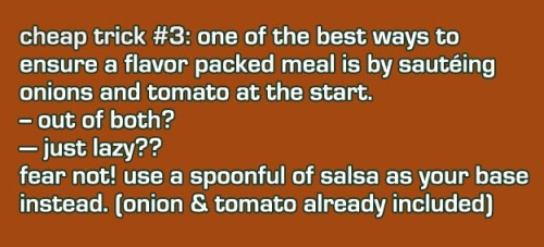 Out of tomato and onion? Salsa already has both!