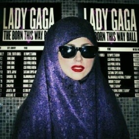 Lady Gaga offered to wear the traditional Muslim headwear for her June 3rd concert in Jakarta. Hypocrisy & corruption reign supreme.  Show cancelled.
