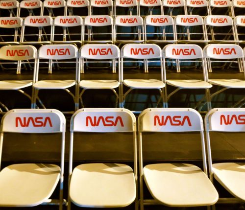 NASA multiplicity at Tom Sachs and Creative Time SPACE PROGRAM: MARS opening at Park Avenue Armory.