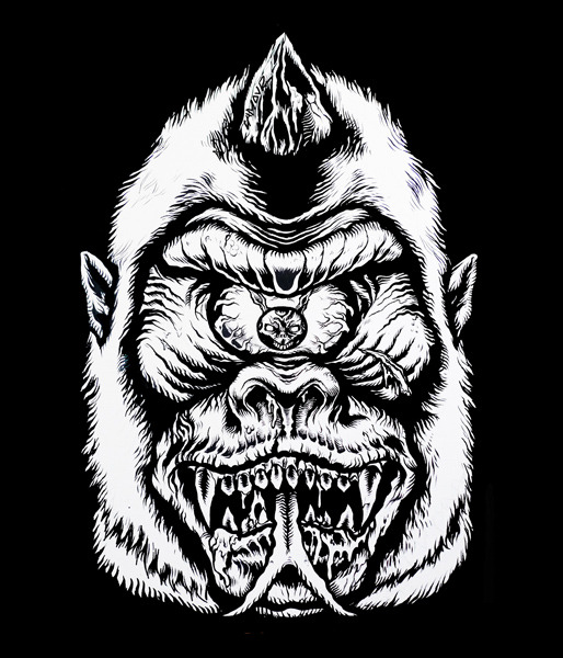 lamoursupreme:  Monkey Bizz X MISHKA X LamourSupreme.  Soon to be on a T.