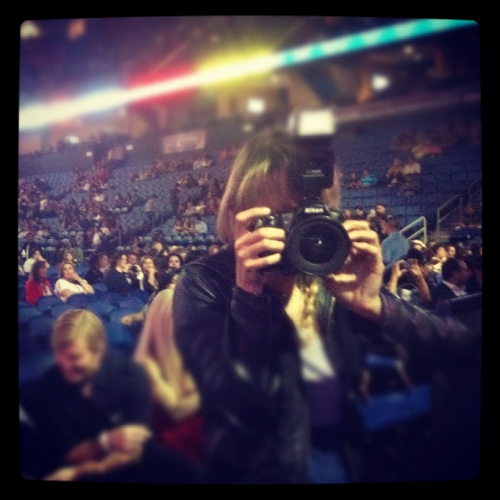 shooting the vicente fernandez concert may 2012