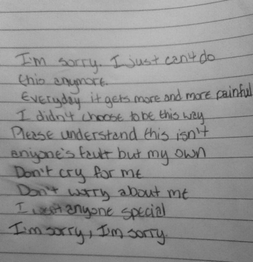 sincerely-your-nightmare:  Sorry for my shitty handwriting.