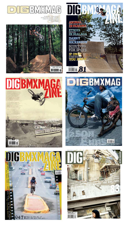Favourite DIGBMX covers