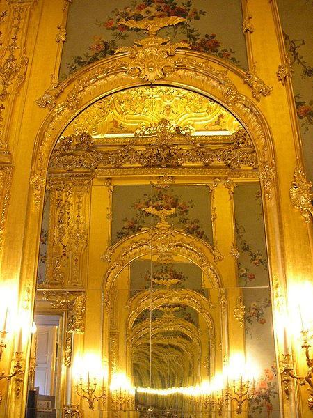 Interior view of the Winterpalais Prinz Eugen in Vienna