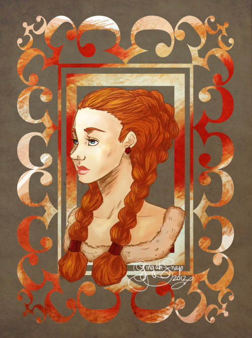 The skeezier Littlefinger gets, the more my heart goes out to poor Sansa.