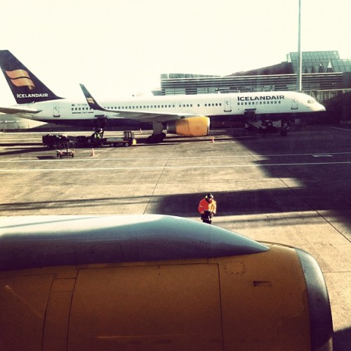 Taken with Instagram at Keflavik gate 3