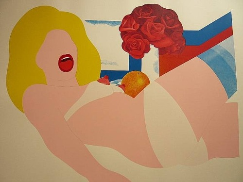 Big Blonde Nude. Tom Wesselmann, 1969