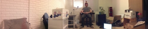 davidschiller:  panorama of me being a BOSS in my (soon to be) dope new room at the Penthouse Penthouse.  Penthouse Penthouse is the shit. Penthouse Penthouse