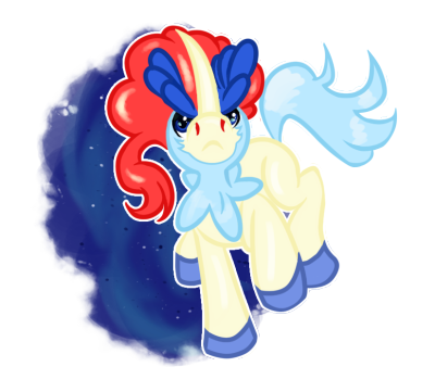 Keldeo!  This was waaaay fun to do. :3 Okay, yeah…um…yeah, it's been a while since I posted…we hit a bump as you can tell, lol.  I hope you guys continue to watch and support me while I try to resurrect this blog and idea, please keep sending ideas!  It means a lot!