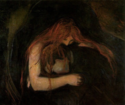 Love and Pain (Vampire) (1893) Edvard Munch
