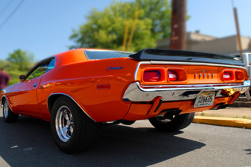 carpr0n:  Fantasy world Starring: Dodge Challenger (by samkennedy1)