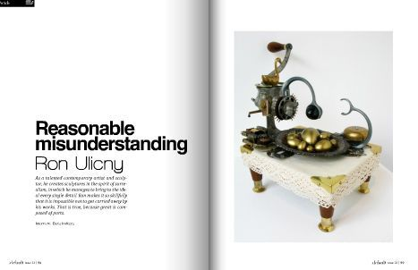 Interview with Ron Ulicny for .default magazine (Istanbul, Turkey)