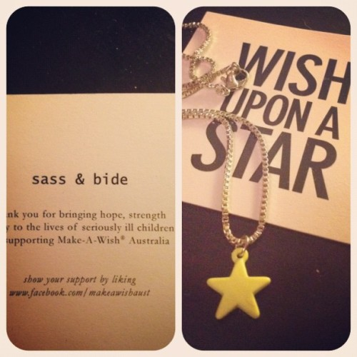 Victory! Praise the lord for @clrmlqny #sassbide #wishuponastar  (Taken with instagram)
