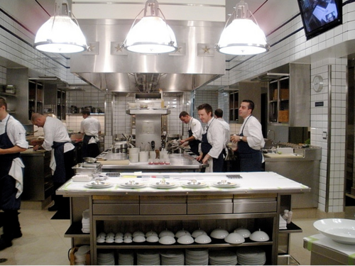 Kitchen @ Per Se in NYC