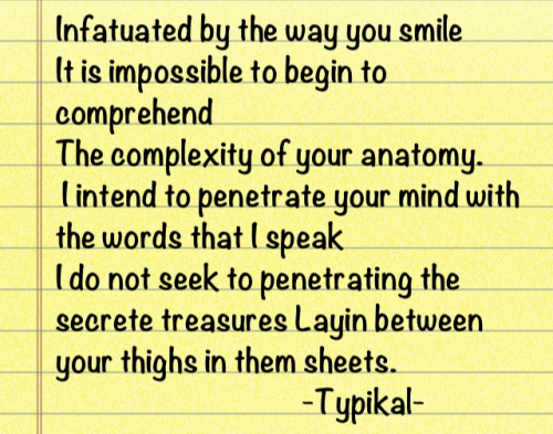 My mind sometimes comes up with Crazy shitt. #typikal