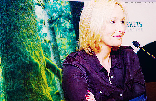 → 01/50 favourite pictures of Jo Rowling