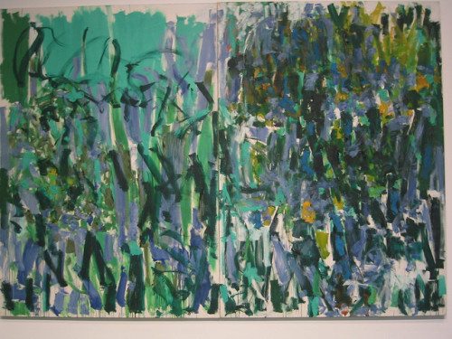 Joan Mitchell - No Rain by Louanne on Flickr.