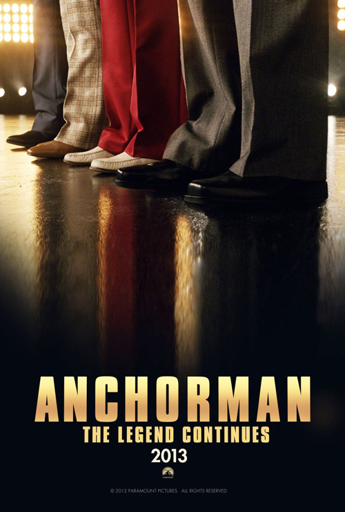 totalfilm:  Anchorman 2 poster revealed Anchorman 2 has filmed a new teaser trailer that will air ahead of The Dictator, a process director Adam McKay has described as extremely helpful in coming up with ideas for the new script…