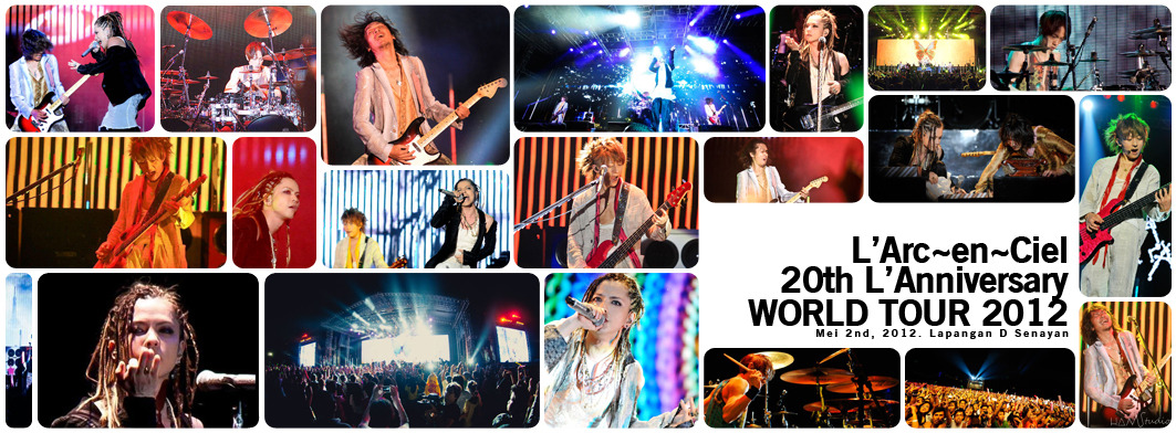 THANX! for coming to Jakarta. #larcenciel #LArukuJKT