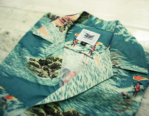 Mark McNairy New Amsterdam Rayon Aloha Shirt | Anchor Division