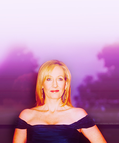 → 03/50 favourite pictures of Jo Rowling