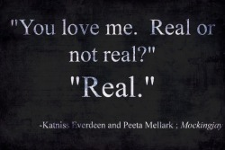 shivaniirambarran:  You love me,real or not?………Real<333