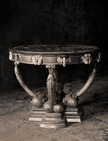 Table belonging to Catherine the Great.