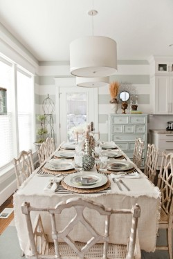 interiorstyledesign:  Shabby beach cottage dining area