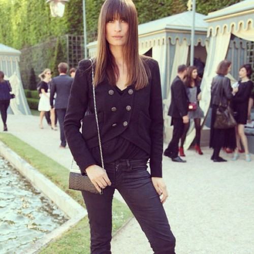 carolinedemaigret:  Chanel ©Vogue