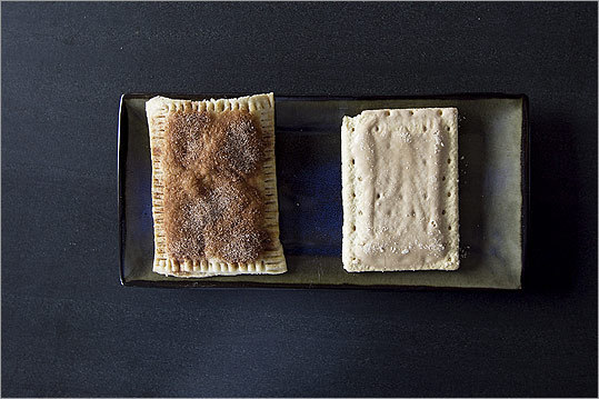 Make your own pop-tarts!  And ketchup, or other store-bought stapes.